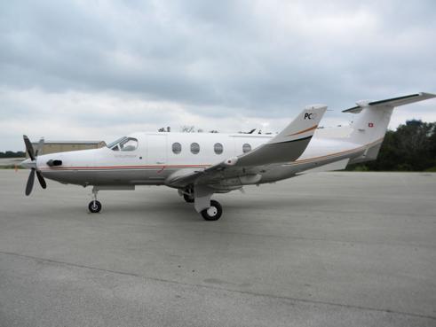 Pilatus PC-12 airplane appraisal