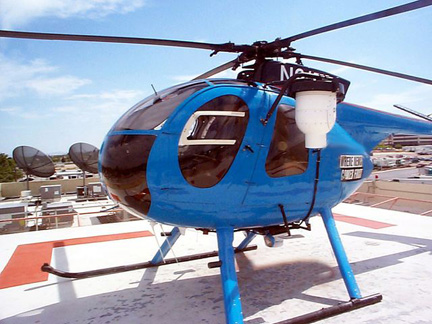 MD 500C helicopter NAAA appraiser