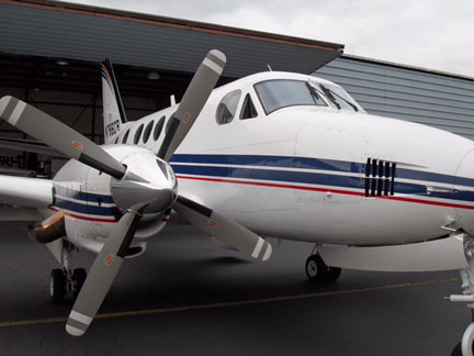 King Air aircraft appraisal