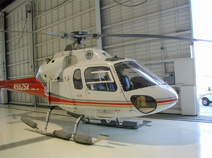 AS355 Twinstar helicopter appraise
