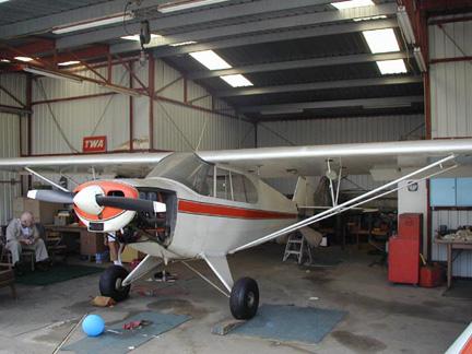 Piper Super Cub airplane appraiser