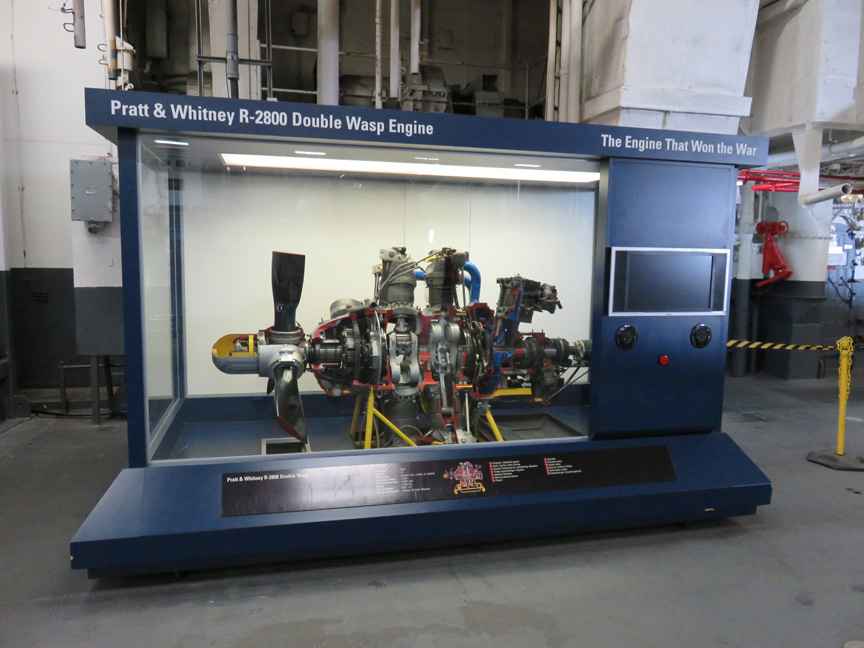 Pratt R2800 engine display appraisal