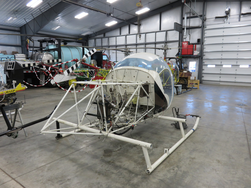 Bell 47 parts appraisal