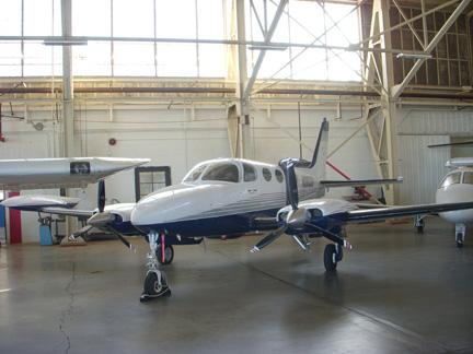 Cessna 340 airplane appraisal