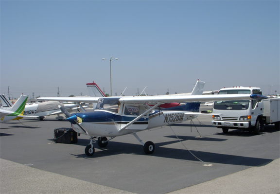 Cessna 152 airplane appraisal