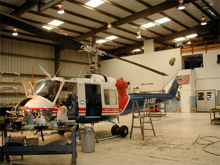 Bell 204B helicopter appraisal