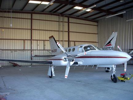 Cessna 421 airplane appraisal