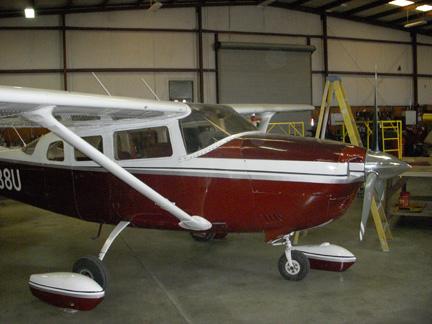 Cessna 206 airplane appraisal NAAA