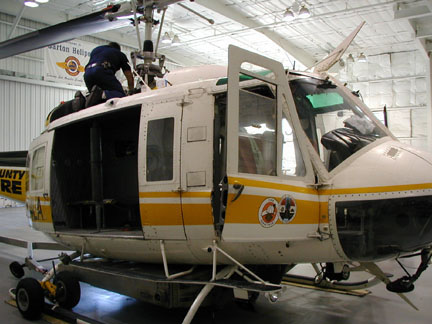 Bell 205 helicopter appraiser NAAA