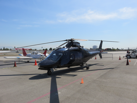 helicopter appraisal Agusta 109