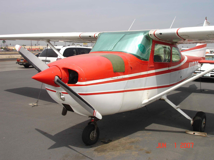 Cessna 172 airplane appraisers