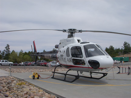 AS350 Medical helicopter appraiser