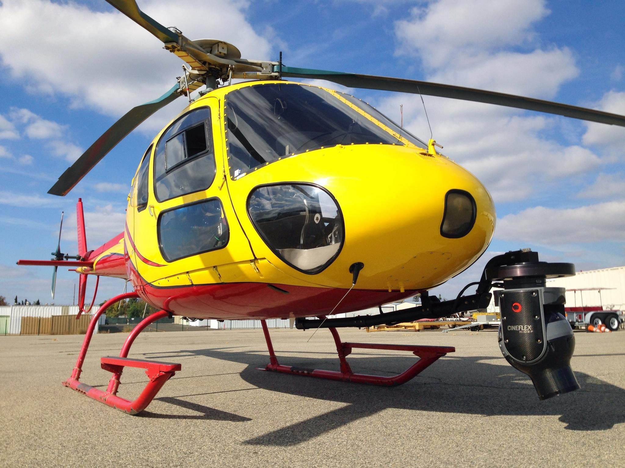AS350D helicopter appraisal