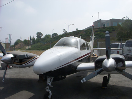 Beech B55 airplane appraisal