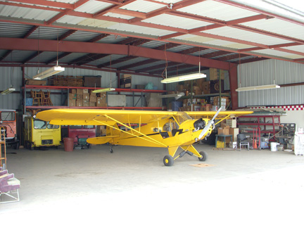 Piper Cub airplane appraisal