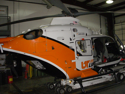 EC135 helicopter NAAA appraiser