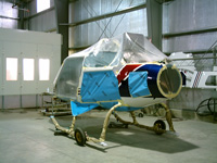 AS350 Fuselage helicopter appraiser