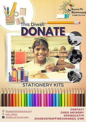 Donate Stationary Kits