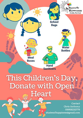 Donate with an Open Heart
