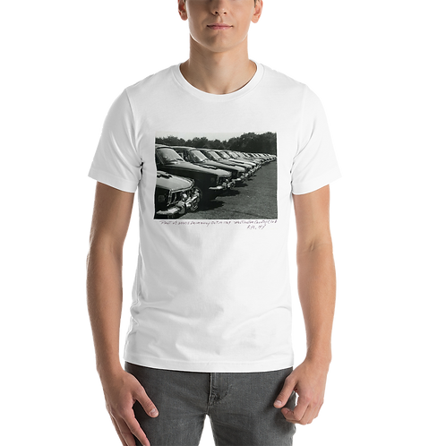 Rover 3500S Line Up T-Shirt