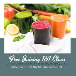 Juicing 101 class 2020 USE