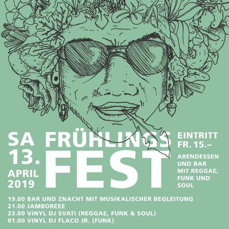 Frühlingsfest mit Reggae & Funk