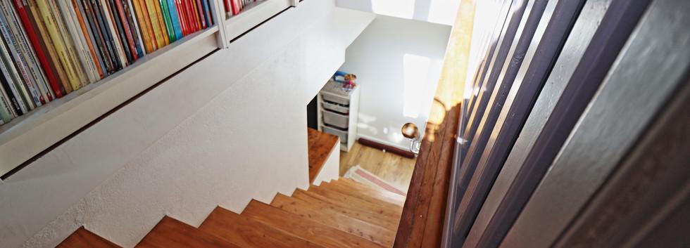 Escalier niveau inférieur