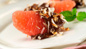 RECIPE: Chocolate and Coconut Texas Rio Star Grapefruit Sections