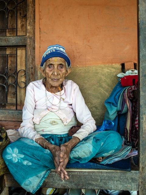 Old Lady - Nepal