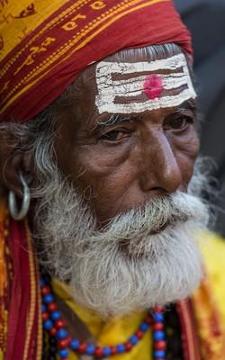 Sadhu - DashaIn Festival - Nepal