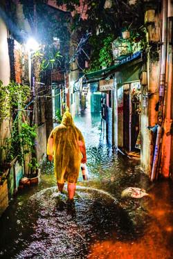 Typhoon Day - Ho Chi Minh City