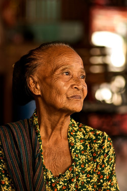 Old Lady - Yogyakarta