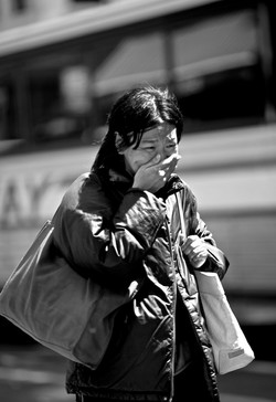 Crying Girl - New York