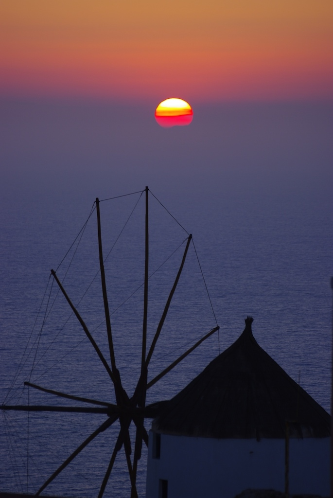 Oia Sunset - Cyclades