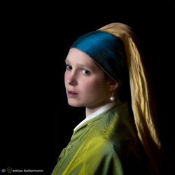 The Girl With a Pearl Earring (1665)
