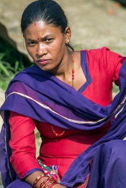 Eyes Contact - Nepal