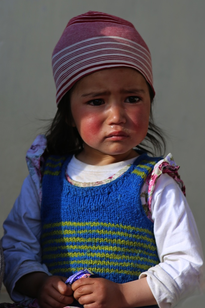 Crying Girl - Ladakh, Nepal