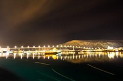 Tromsoe by night
