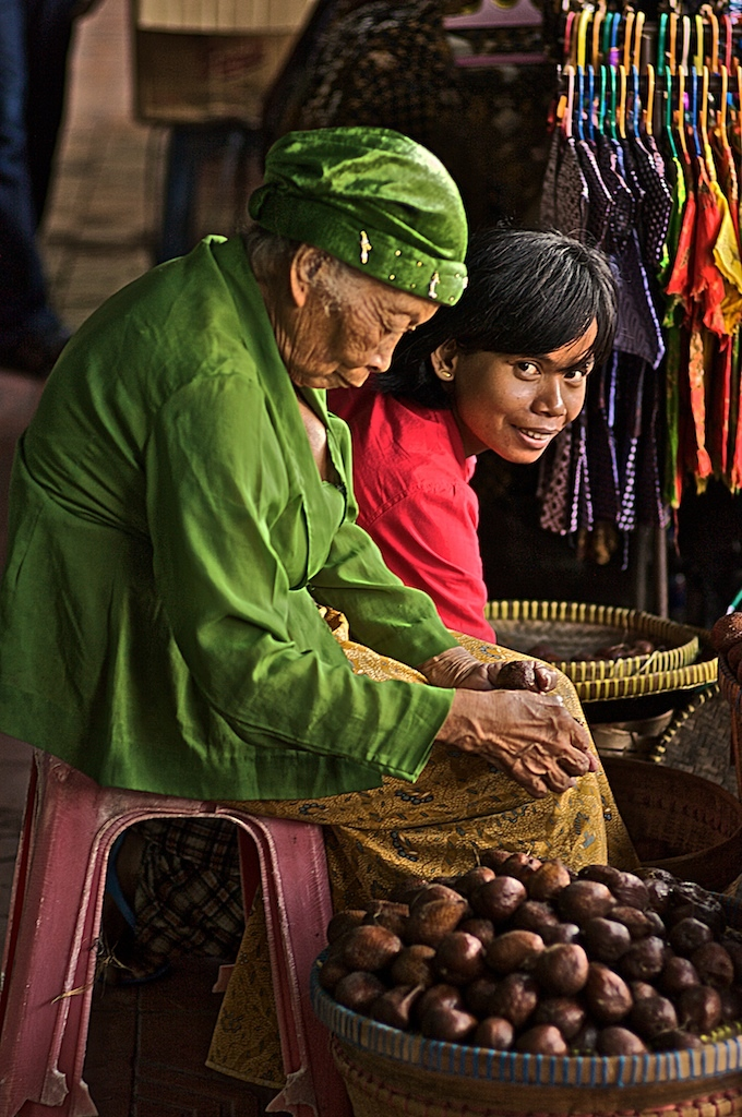 The fruits sellers - Yogyakarta