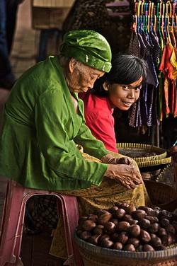 The fruits sellers - Yogyakarta