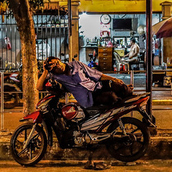 Night life in HCMC