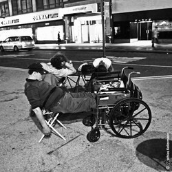 Homeless on Brodway Avenue