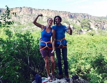 Team of Flying Goat Camping Turkey Geyikbayiri