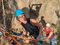 Rock climbing course Antalya