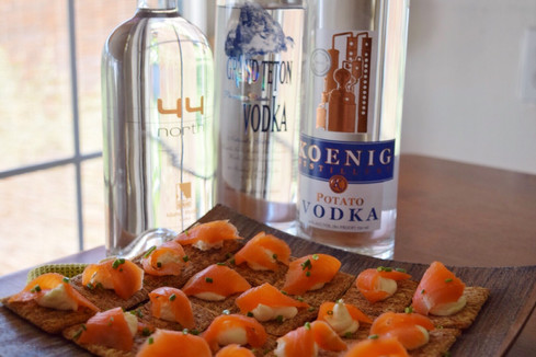 Potato Vodka Tasting and Russian-Themed Dinner Party
