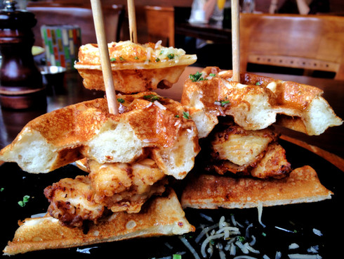 Eat This: Fork's Fried Chicken and Waffle Sliders