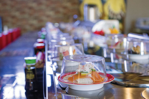Review: Rotary Sushi on Fairview
