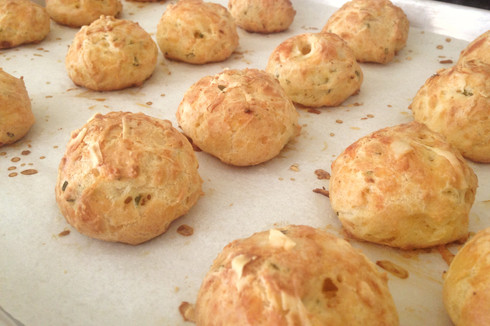 Make This: Airy Gougères with Gruyère