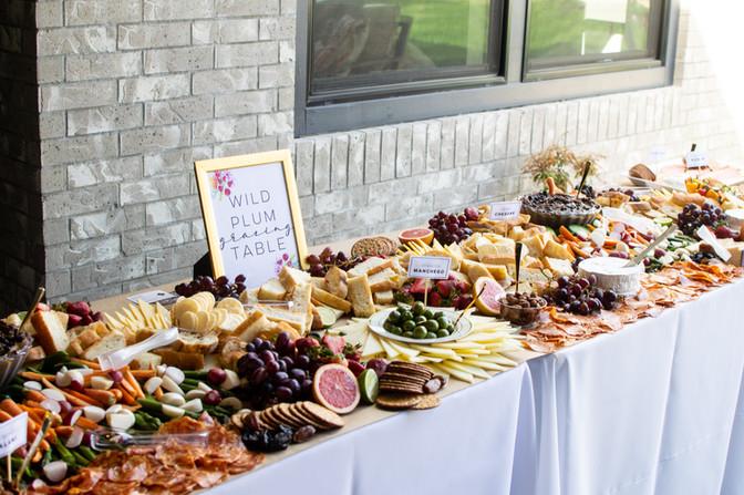 Wedding Grazing Table Boise
