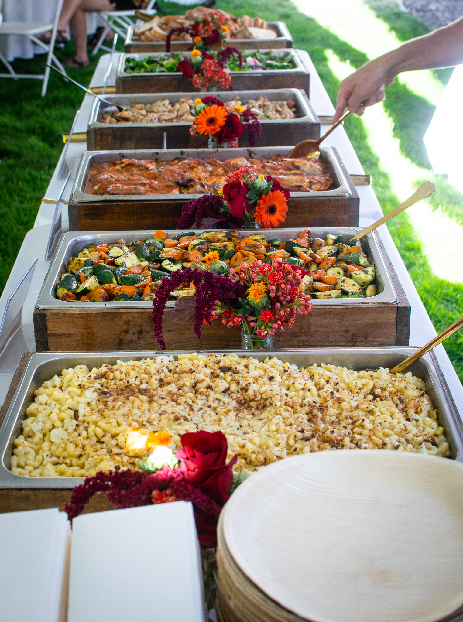 Boise Wedding Buffet Catering